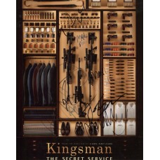 Kingsman: The Secret Service AUTOGRAPHED by 7 SIGNED IN PERSON 10x8 Photo