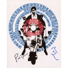 Phil Daniels & Phil Davis AUTOGRAPHED Quadrophenia SIGNED IN PERSON 10x8