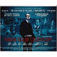 Tinker Tailor Soldier Spy 10 x 8 signed photo - 9 Cast - SOLD OUT