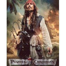 Rob Marshall AUTOGRAPH Pirates of the Caribbean SIGNED IN PERSON 10x8 Photo