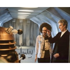 Pearl Mackie AUTOGRAPH Dr Who SIGNED IN PERSON 10x8 photo