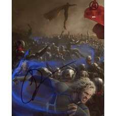 Aaron Taylor-Johnson AUTOGRAPH Avengers Age of Ultron SIGNED IN PERSON 10x8 photo