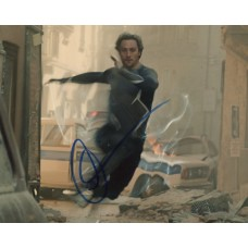 Aaron Taylor-Johnson AUTOGRAPH Avengers SIGNED IN PERSON 10x8 Photo