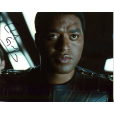 Chiwetel Ejiofor AUTOGRAPH Serenity SIGNED IN PERSON 10x8 photo