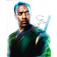 Chiwetel Ejiofor AUTOGRAPH Doctor Strange SIGNED IN PERSON 10x8 Photo