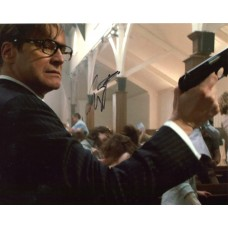 Colin Firth AUTOGRAPH Kingsman Secret Service SIGNED IN PERSON 10x8 Photo