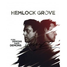 Dougray Scott AUTOGRAPH Hemlock Grove SIGNED IN PERSON 10x8 photo