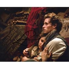 Eddie Redmayne AUTOGRAPH Les Miserables SIGNED IN PERSON 10x8 photo