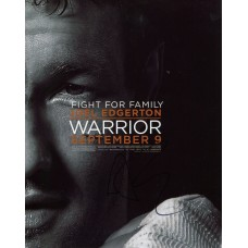 Joel Edgerton AUTOGRAPH Warrior SIGNED IN PERSON 10x8 Photo