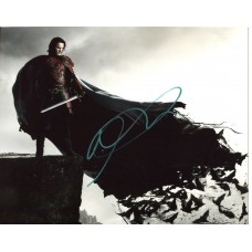 Luke Evans AUTOGRAPH Dracula Untold SIGNED IN PERSON 10x8 Photo