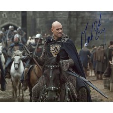 Mark Strong AUTOGRAPH Robin Hood SIGNED IN PERSON 10x8 photo