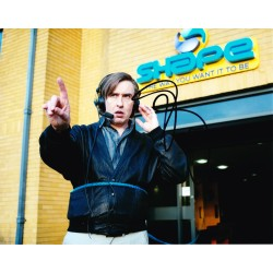Steve Coogan AUTOGRAPH Alan Partridge SIGNED IN PERSON 10x8 Photo