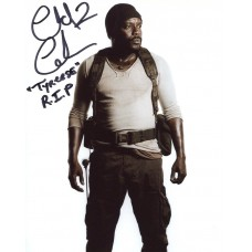 Chad Coleman AUTOGRAPH The Walking Dead SIGNED IN PERSON 10x8 Photo