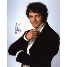 Colin Firth AUTOGRAPH Pride & Prejudice SIGNED IN PERSON 10x8 Photo