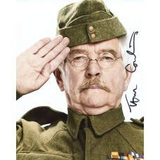 Tom Courtenay AUTOGRAPH Dad's Army SIGNED IN PERSON 10x8 photo