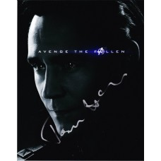 Tom Hiddleston AUTOGRAPH Avengers Endgame SIGNED IN PERSON 10x8 photo