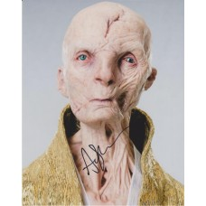 Andy Serkis AUTOGRAPH Star Wars The Last Jedi SIGNED IN PERSON 10x8 Photo