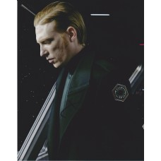 Domhnall Gleeson AUTOGRAPH Star Wars The Last Jedi SIGNED IN PERSON 10x8 Photo