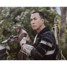Donnie Yen AUTOGRAPH Rogue One Star Wars SIGNED IN PERSON 10x8 Photo