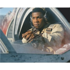 John Boyega AUTOGRAPH Star Wars The Last Jedi SIGNED IN PERSON 10x8 Photo