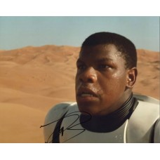 John Boyega AUTOGRAPH Star Wars SIGNED IN PERSON 10x8 Photo