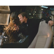 Joonas Suotamo AUTOGRAPH Star Wars The Last Jedi SIGNED IN PERSON 10x8 Photo
