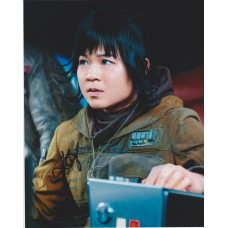 Kelly Marie Tran AUTOGRAPH Star Wars The Last Jedi SIGNED IN PERSON 10x8 Photo