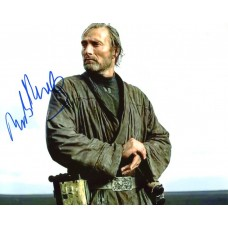 Mads Mikkelsen AUTOGRAPH Rogue One Star Wars SIGNED IN PERSON 10x8 Photo
