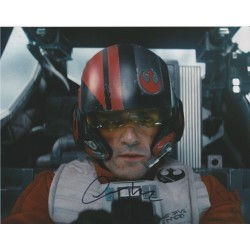 Oscar Isaac AUTOGRAPH Star Wars The Last Jedi SIGNED IN PERSON 10x8 Photo - SOLD OUT