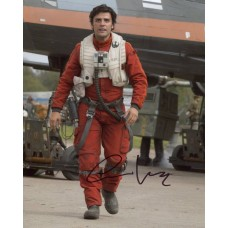 Oscar Isaac AUTOGRAPH Star Wars SIGNED IN PERSON 10x8 Photo - SOLD OUT