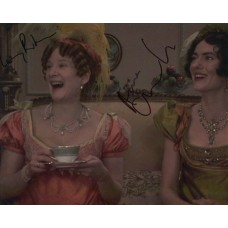 Anna Chancellor & Lucy Robinson AUTOGRAPH Pride & Prejudice SIGNED IN PERSON 10x8 Photo