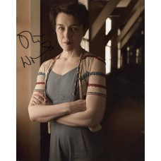 Olivia Williams AUTOGRAPH Manhattan SIGNED IN PERSON 10x8 photo