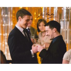 George Mackay AUTOGRAPH Sunshine On Leith SIGNED IN PERSON 10x8 photo