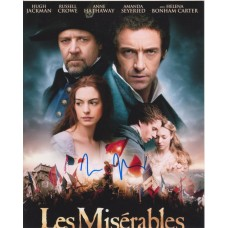 Tom Hooper AUTOGRAPH Les Mis SIGNED IN PERSON 10x8 photo