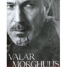 Aidan Gillen AUTOGRAPH Game Of Thrones SIGNED IN PERSON 10x8 photo