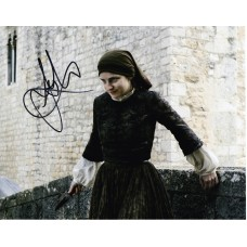 Faye Marsay AUTOGRAPH Game Of Thrones SIGNED IN PERSON 10x8 Photo