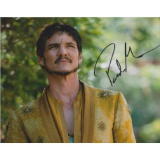 Pedro Pascal AUTOGRAPH Game Of Thrones SIGNED IN PERSON 10x8 Photo