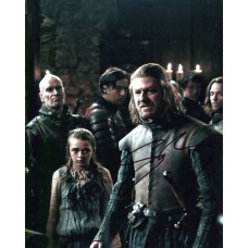 Sean Bean AUTOGRAPH Game Of Thrones SIGNED IN PERSON 10x8 photo