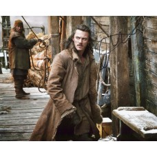 Luke Evans AUTOGRAPH Hobbit SIGNED IN PERSON 10x8 Photo