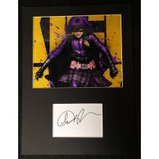 Chloe Grace-Moretz AUTOGRAPH Kick Ass SIGNED IN PERSON Index Card Presentation