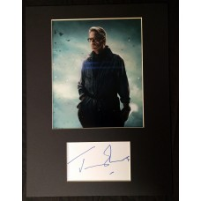 Jeremy Irons AUTOGRAPH Batman Vs Superman SIGNED IN PERSON Index Card Presentation