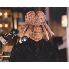 Eric Loren AUTOGRAPH Dr Who SIGNED IN PERSON 10x8 photo