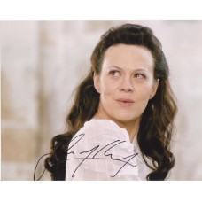 Helen McCrory AUTOGRAPH Dr Who SIGNED IN PERSON 10x8 photo