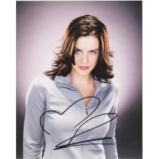Michelle Ryan AUTOGRAPH Bionic Woman SIGNED IN PERSON 10x8 photo