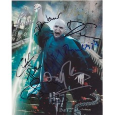 Harry Potter Autographed Poster Shot - Signed In Person by 9