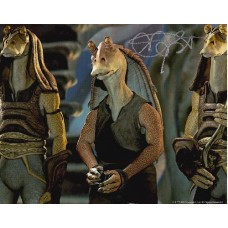 Ahmed Best AUTOGRAPH Star Wars SIGNED IN PERSON 10x8 Photo - SOLD OUT