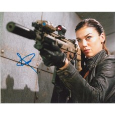 Adrianne Palicki AUTOGRAPH G.I. Joe SIGNED IN PERSON 10x8 photo