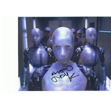 Alan Tudyk AUTOGRAPH I Robot SIGNED IN PERSON 10x8 Photo - SOLD OUT