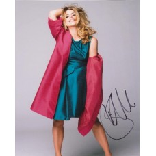 Billie Piper AUTOGRAPH Posed SIGNED IN PERSON 10x8 Photo