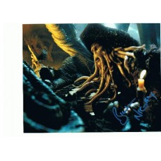Bill Nighy AUTOGRAPH Pirates of the Caribbean SIGNED IN PERSON 10x8 Photo - SOLD OUT